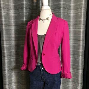 Forever21 pink blazer - large